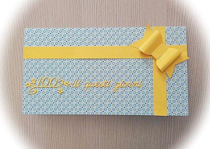 Biglietto di auguri porta coupon per compleanno, by Parentesi Creative, 1,10 € su misshobby.com