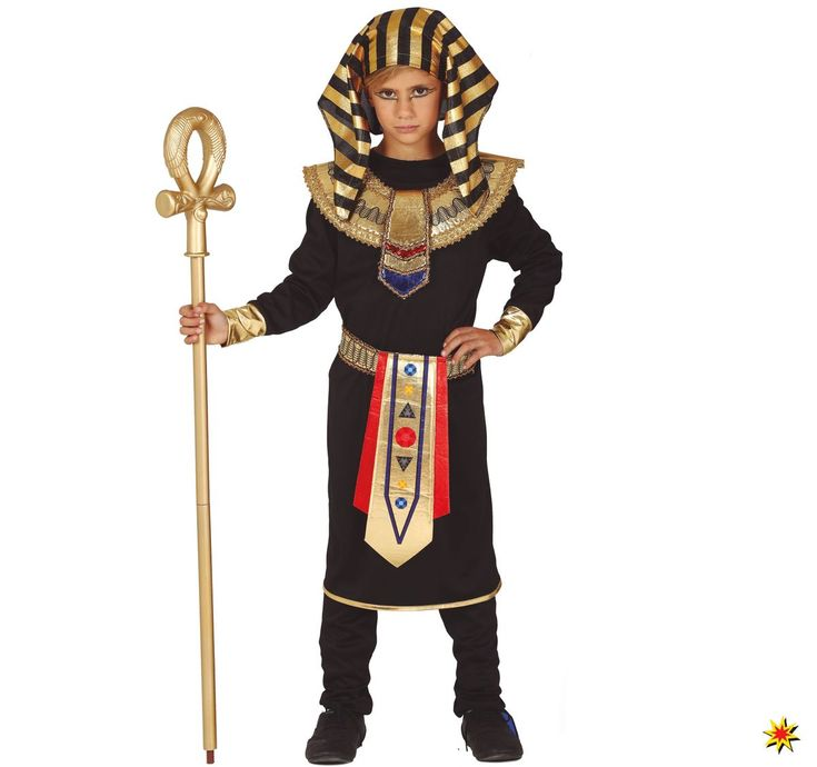 Kinder Kostum Agypter Pharao Tutanchamun Kinderkostume Fur