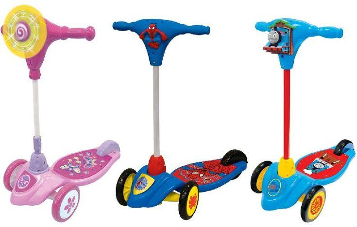 Children's Scooters Recalled by Kiddieland Due to Laceration Hazard