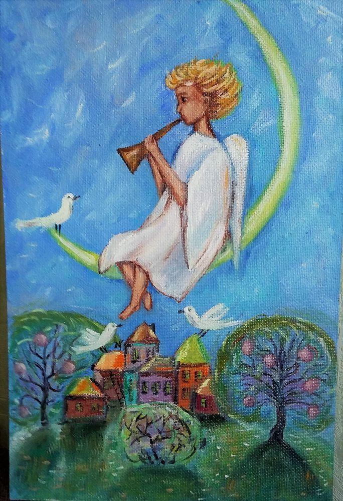 Ангел для Татьяны - Ярмарка Мастеров - ручная работа, handmade