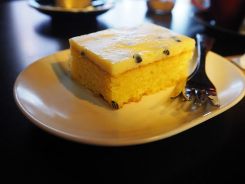 Passionfruit Slice from Blackflower Patisserie