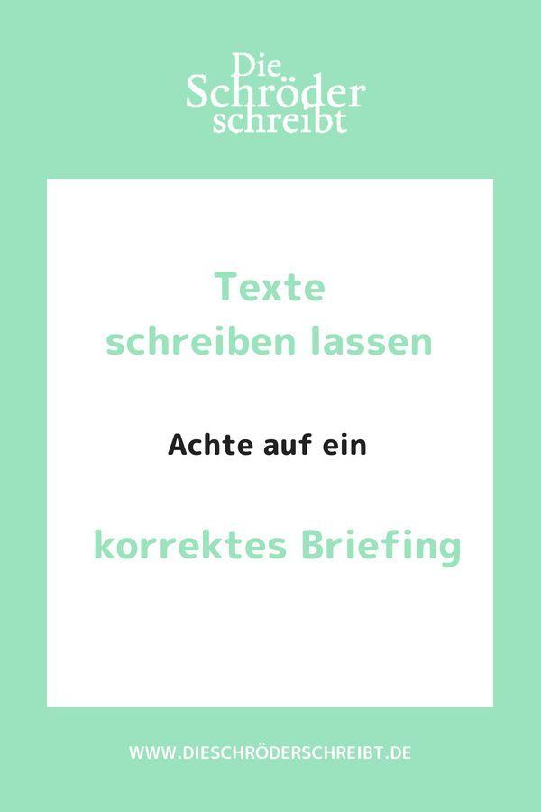 Das Perfekte Texter Briefing 7 Einfache Schritte Erfolgreicher