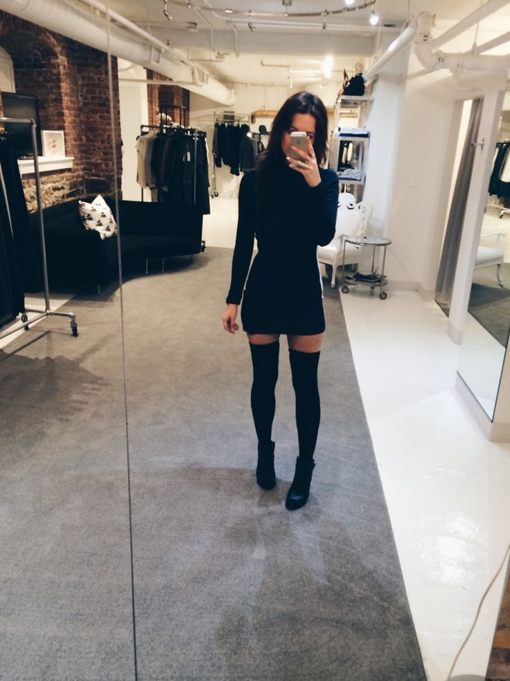 Long sleeve short dress boots socks