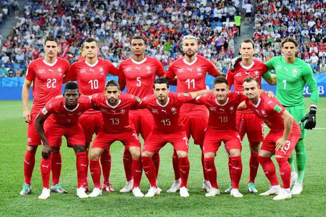 Seleccion De Suiza Contra Seleccion De Costa Rica 27 06 2018 Mundial Equipo De Futbol Copa Del Mundo Seleccion De Costa Rica