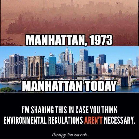 @MARIELinBOSTON.  GET READY FOR ALL THESE IMPROVEMENTS TO END UNDER TRUMP AS HE CANCELS REGULATIONS FOR CLEAN AIR, WATER, LAND, ETC.  IS THAT WHAT YOU WANT YOU MORONS?  THAT'S WHAT YOU VOTED FOR!