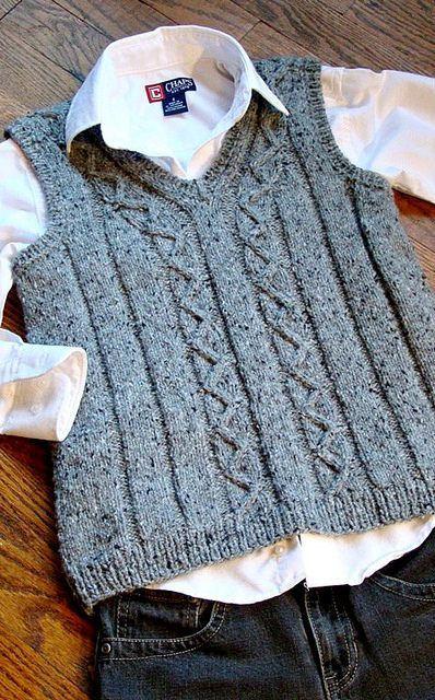 Ravelry: Svetlana's Zigzag vest
