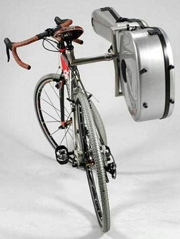 Guitar holder for your bike :)