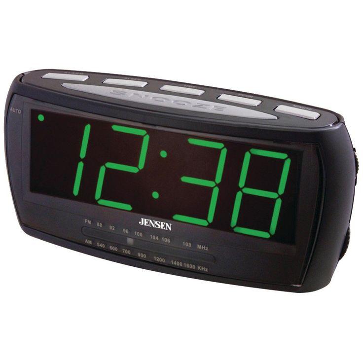 Jensen Am And Fm Alarm Clock Radio – USMART NY