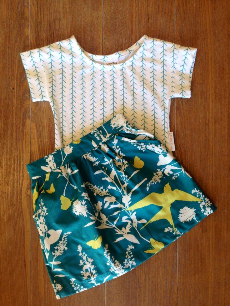 Little Bug tee & skirt!