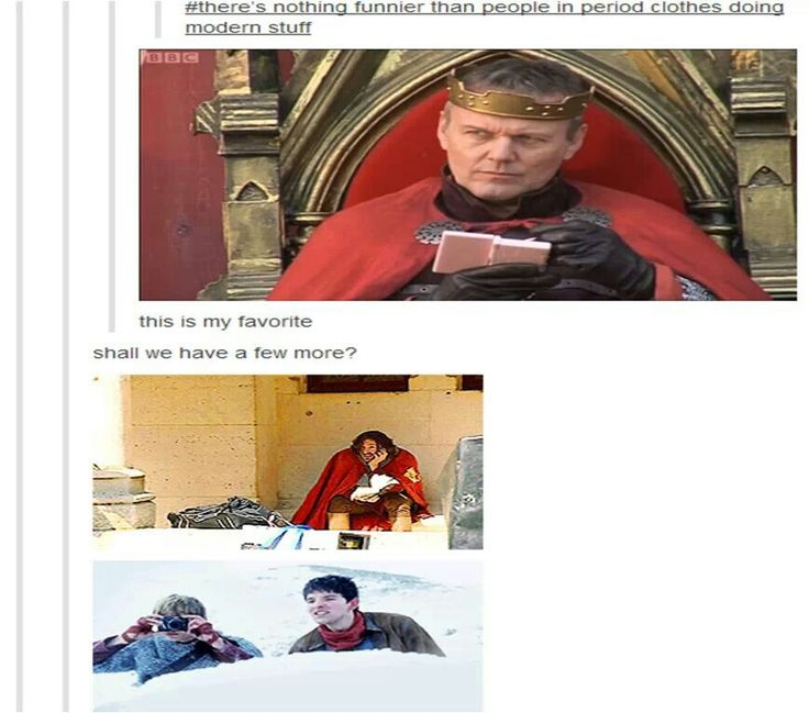 """And Uther's just on his little Nintendo like, """"I do what I want."""""""