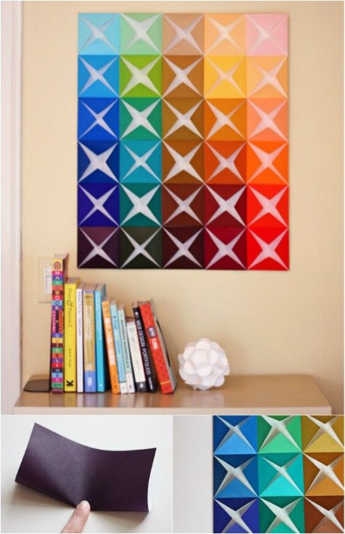 26 Stunning and Simple Wall Art Projects To Make Decorating On A Budget  Easy!