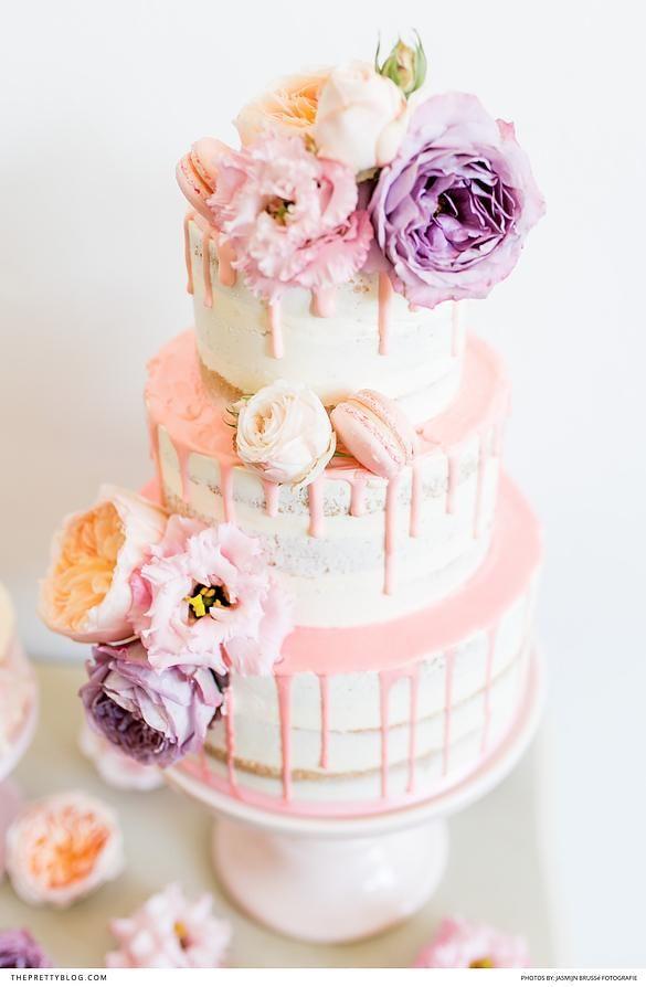 Lost In A Haze Of Violet Cake Photographypastel Weddingscake