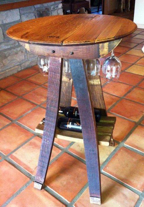 Barrel Designs Handcrafted Wine Barrel Furniture