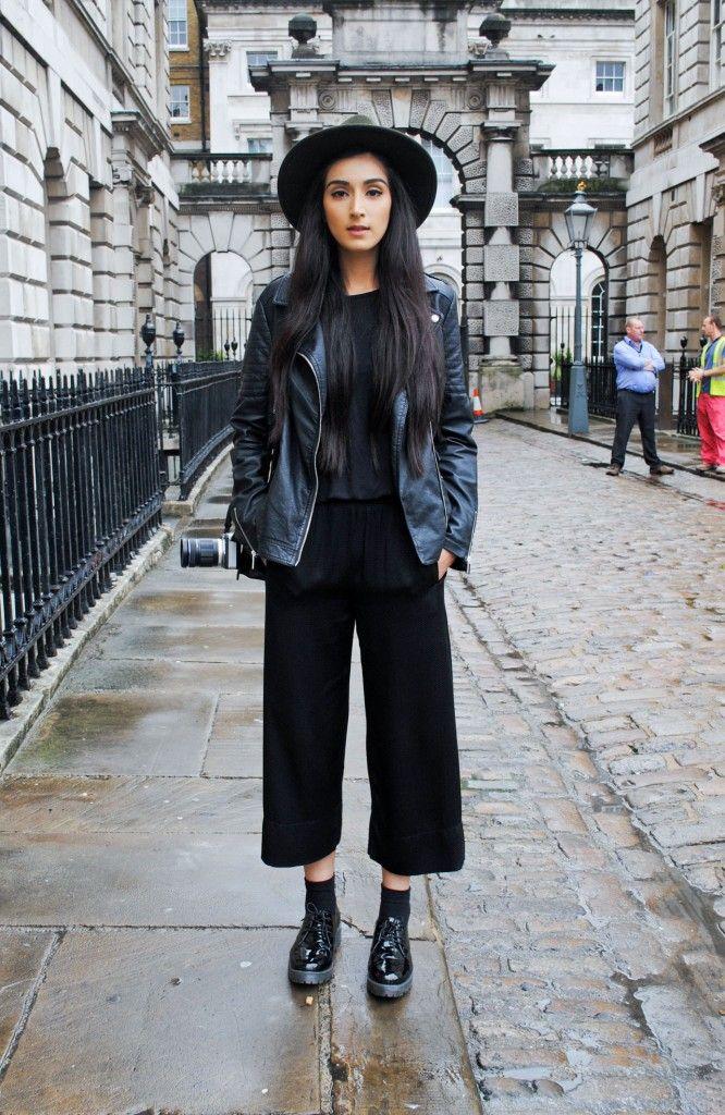 Boho Goth Street Style New York Paris London Fashion Week