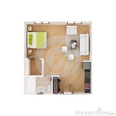 Planta Baixa De Apartamento Studio Em Hoteis   Pesquisa Google Part 95