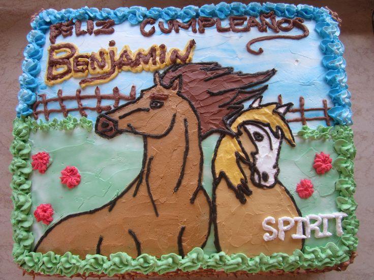 Spirit B-day Cake