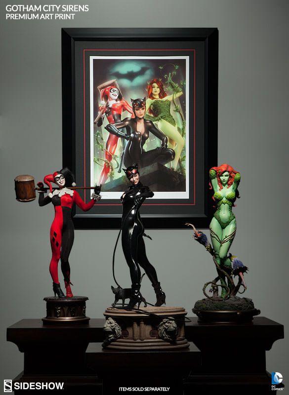 DC Comics Gotham City Sirens Premium Art Print by Sideshow C | Sideshow Collectibles