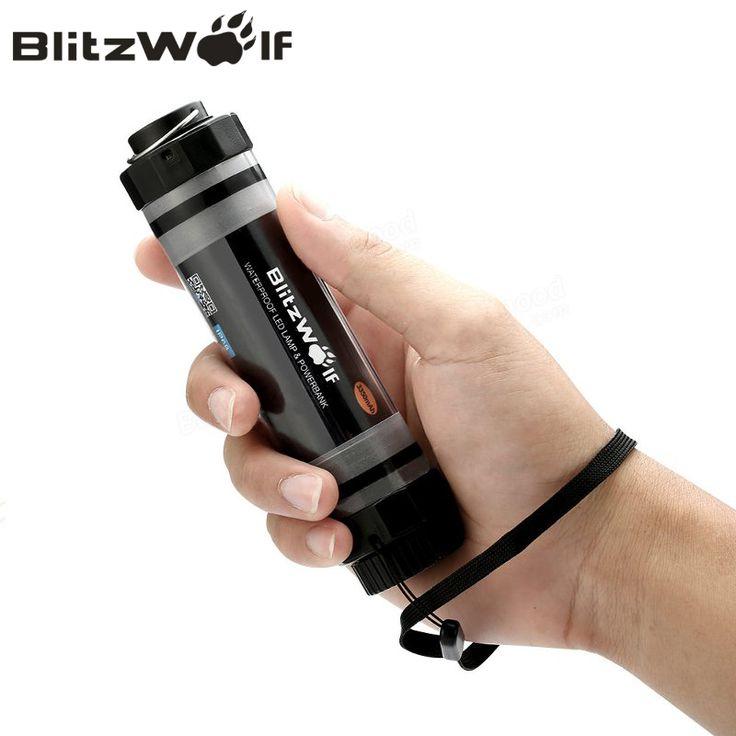 BlitzWolf BW-LT5 Pro 3350mAh Power Bank External Battery With LED Waterproof Light Emergency Lanterna Led Mobile Phone Charger -  http://mixre.com/blitzwolf-bw-lt5-pro-3350mah-power-bank-external-battery-with-led-waterproof-light-emergency-lanterna-led-mobile-phone-charger/  #ExternalBatteryPack
