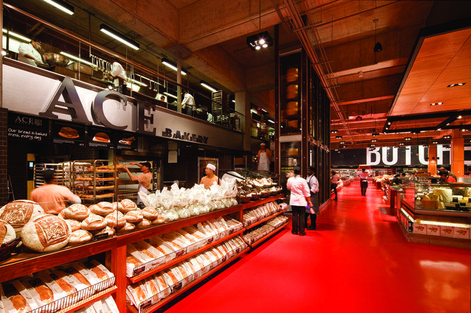 CiB Comercios Innovadores de Bilbao » Archivo » Un espectacular supermercado, mejor diseño en retail de los Australian Design Awards 2012