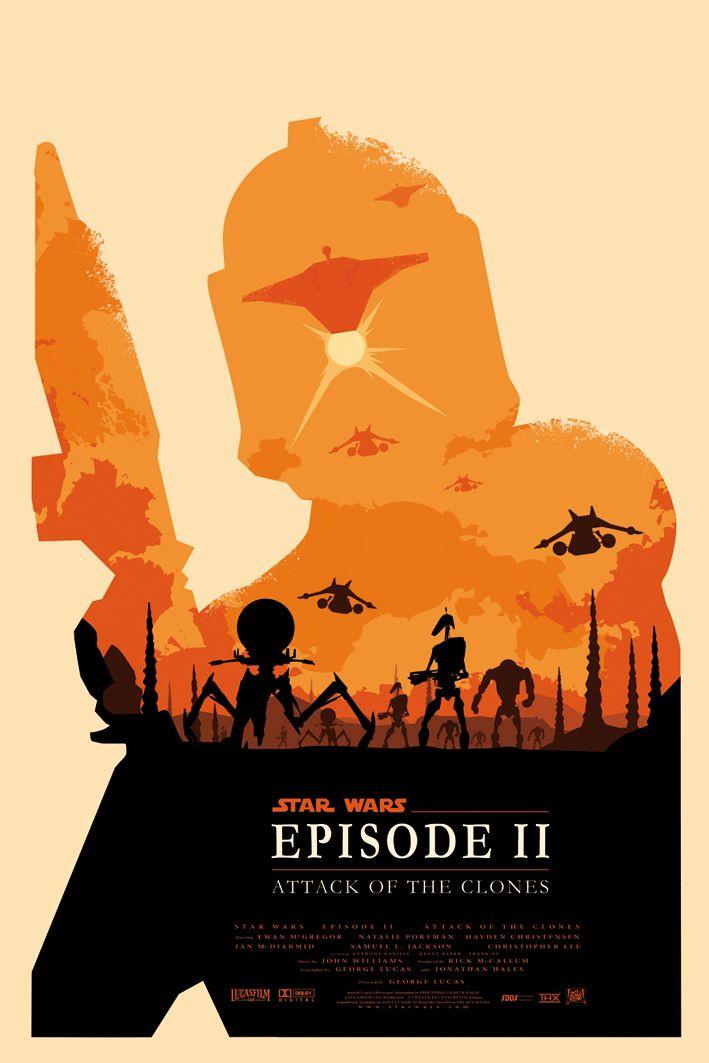 Star Wars Episode 2 by ~Zenithuk on deviantART #starwars #poster