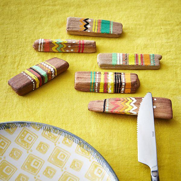 Portes couteaux - DIY