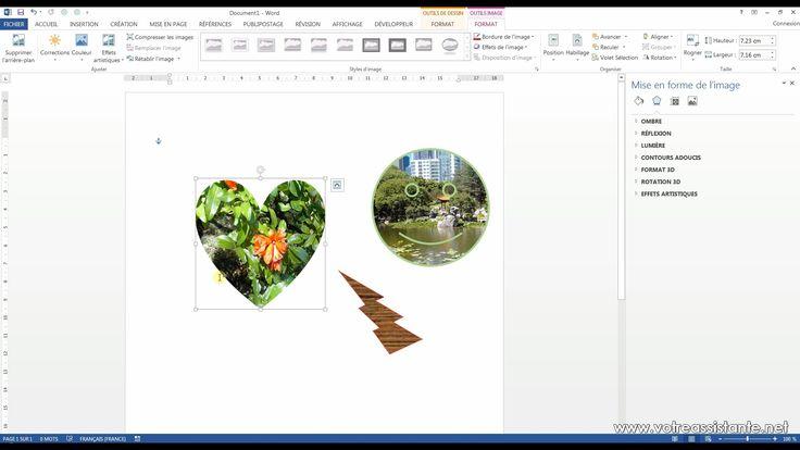 Tutoriel vidéo pour apprendre à insérer une image dans une forme automatique sur Word. Comment changer la forme d'une image dans Word ? Comment appliquer une texture à une forme automatique dans Word ?  Pour lire ce tutoriel en version texte, rendez-vous sur Votre Assistante : http://www.votreassistante.net/inserer-image-dans-forme-automatique-word