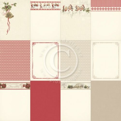 """PION DESIGN - MEMORY NOTES PD4831 - CHRISTMAS IN NORWAY 1                                                                    TOSIDIG MØNSTERARKi serien""""MEMORY NOTES""""en ny kolleksjon fraPION DESIGN. Arket måler ca 30,5cm x 30,5cm.Memory Notes - a collection intended to make memory keeping easier - Different designs in size 4x4"""", 4x6"""" and 3x4"""" - ..."""