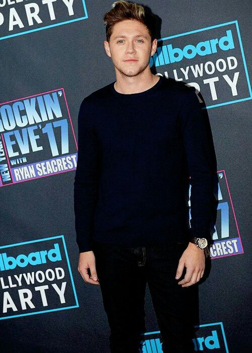 Niall Horan at Dick Clark's New Year's Rockin Eve 2017