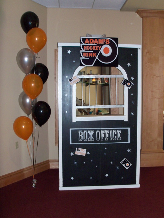 image detail for luanne cram celebrations creations 2811 philmont avenue huntingdon 50th partybirthday party ideasphiladelphia flyers40th