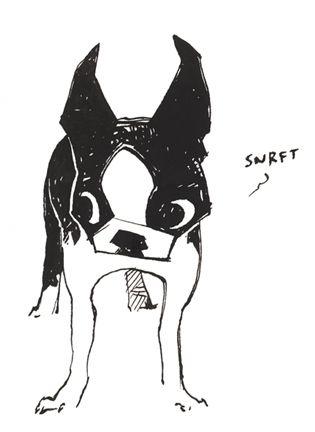 boston terrier <3Little Pigs, Boston Terrier Art, Terriers Art, Illustration Boston Terriers, Classic Boston, Boston Snurft, Boston Terrier Sketch, Shoomlah Deviantart Com, Boston Art