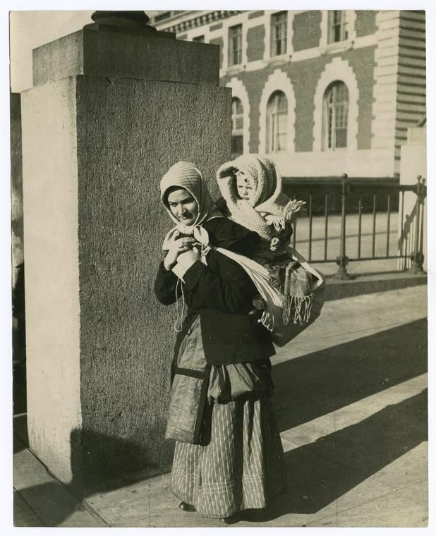 Hungarian mother and child