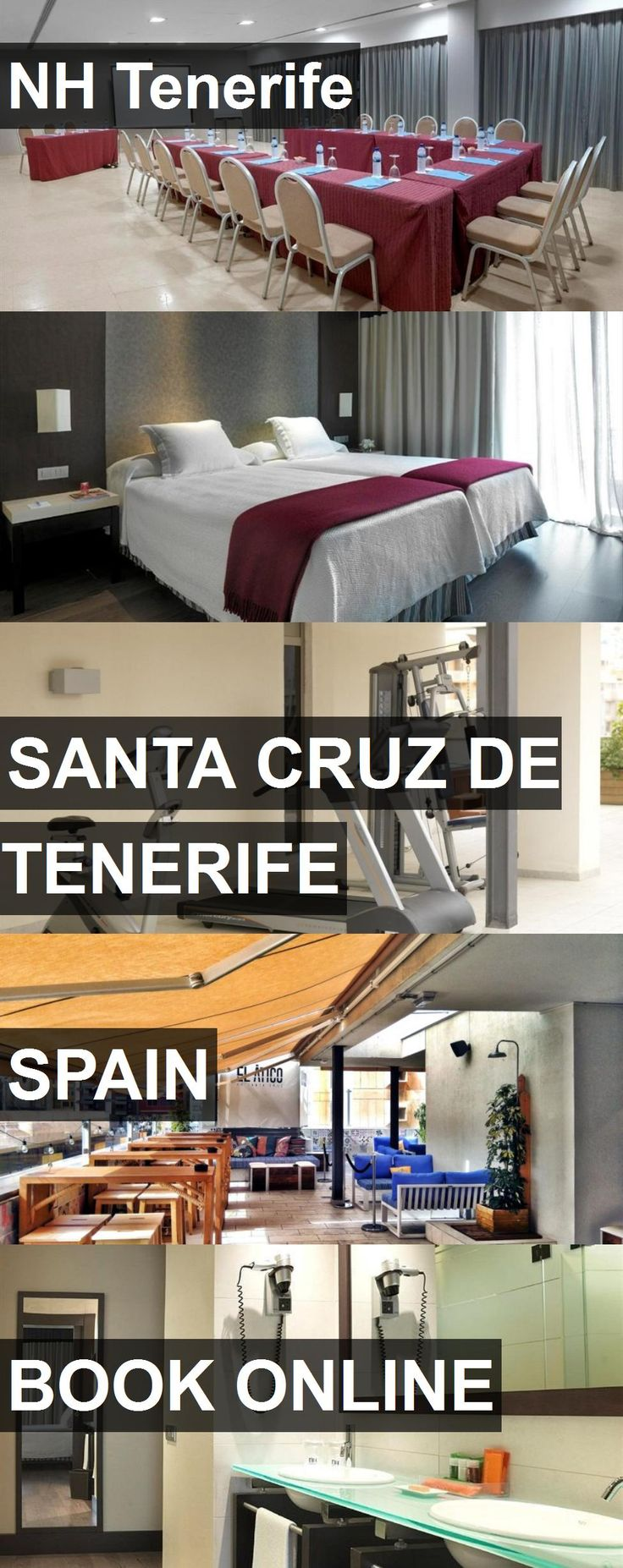 Hotel NH Tenerife in Santa Cruz de Tenerife, Spain. For more information, photos, reviews and best prices please follow the link. #Spain #SantaCruzdeTenerife #NHTenerife #hotel #travel #vacation