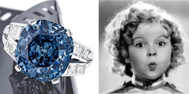 Gioielli: all'asta da Sotheby's il diamante blu di Shirley Temple  - Gioia.it