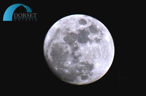 The January 2016 full moon counts the second full moon after the December solstice. In North America, this full moon is often called the Wolf Moon, Snow Moon or Hunger Moon. Nikon D7000 with 1300mm lens. No filter. #DorsetOntario #WolfMoon #SnowMoon #Hungermoon