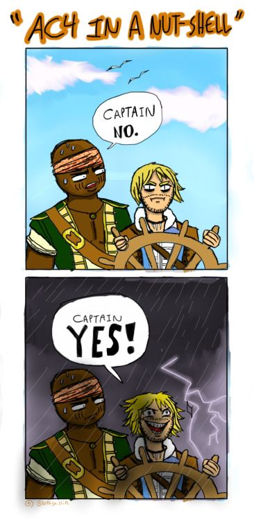 Assassin's Creed: Black Flag in a nutshell.