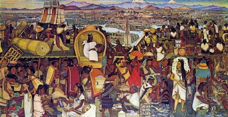 El mercado de Tlatelolco, un viaje al pasado