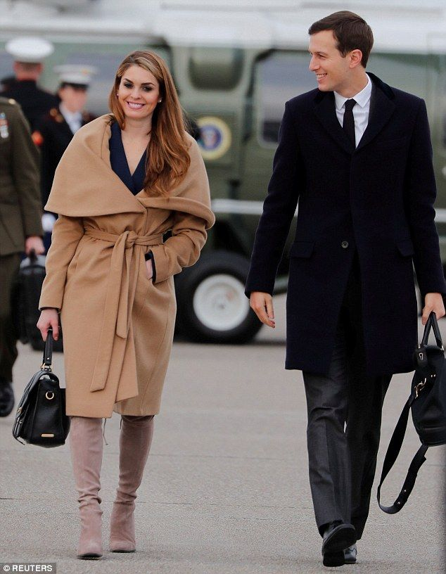 Hope Hicks Stuns In 800 Thigh High Boots As She Listens To Trump Fashion Celebrity Street Style Fast Fashion Brands