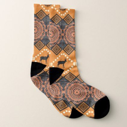 ikat pattern socks trendy gifts template trendy gifts