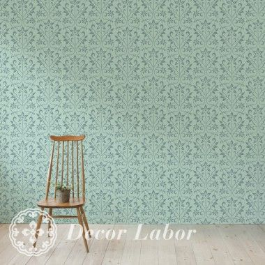 our stencils, vintage paint roller pattern - Fiona
