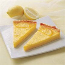 I love french lemon tart