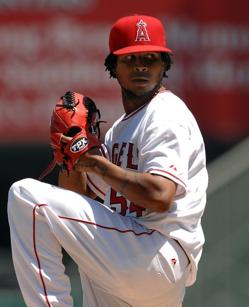 Angels Pitcher Ervin Santana