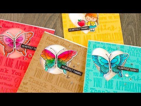 Sentiment Background + Color On-The-Go + GIVEAWAY - Jennifer McGuire Ink