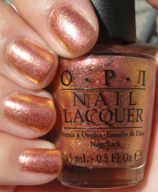 Nail Polish Colors Bronze: Serena Williams Glam Slam