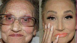 A 80 anni diventa star della rete Il trucco di Livia c'è. E si vede