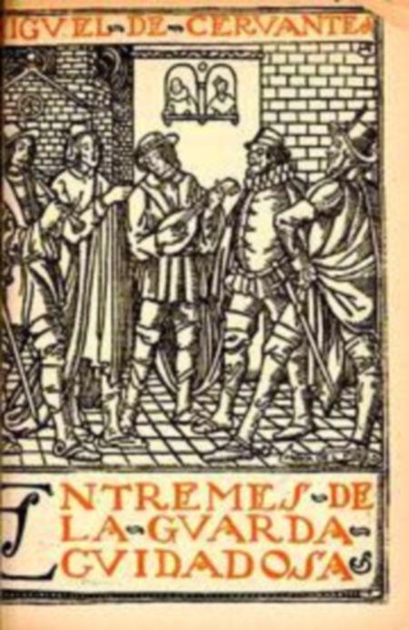Título :Entremés de la guarda cuidadosa Publicación Jaén : Universidad, Servicio de Publicaciones, [2001]  Autor :Cervantes Saavedra, Miguel de, 1547-1616 SIGNATURA.L6t-CERVANTES-gua http://kmelot.biblioteca.udc.es/record=b1251698~S10*gag