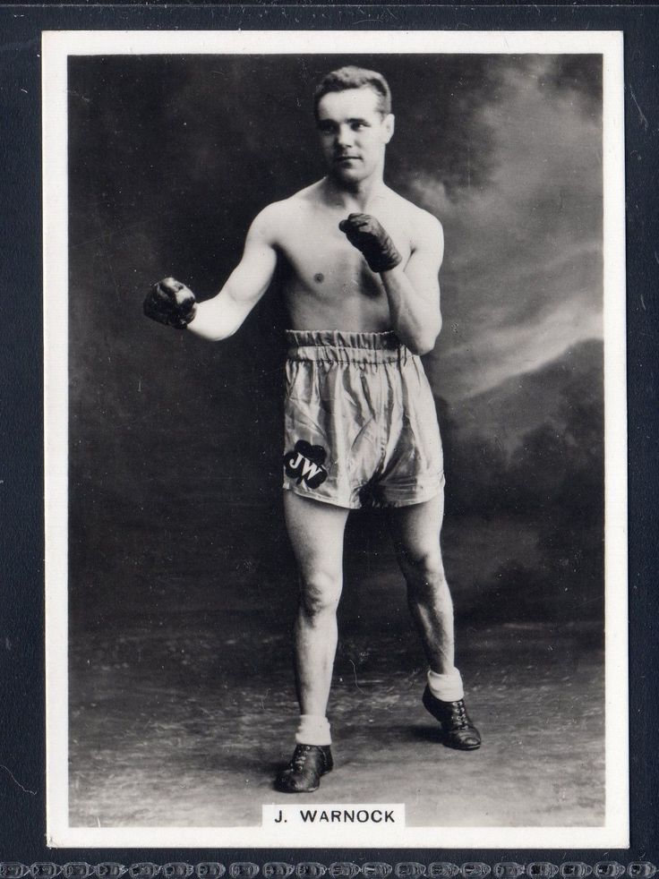 ARDATH PHOTOCARD - JIM WARNOCK - IRISH FLY-WEIGHT BOXING CHAMPION