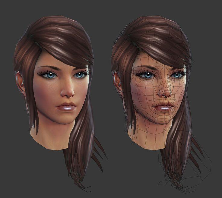 Rift: Eth Female Head by HazardousArts.deviantart.com on @deviantART