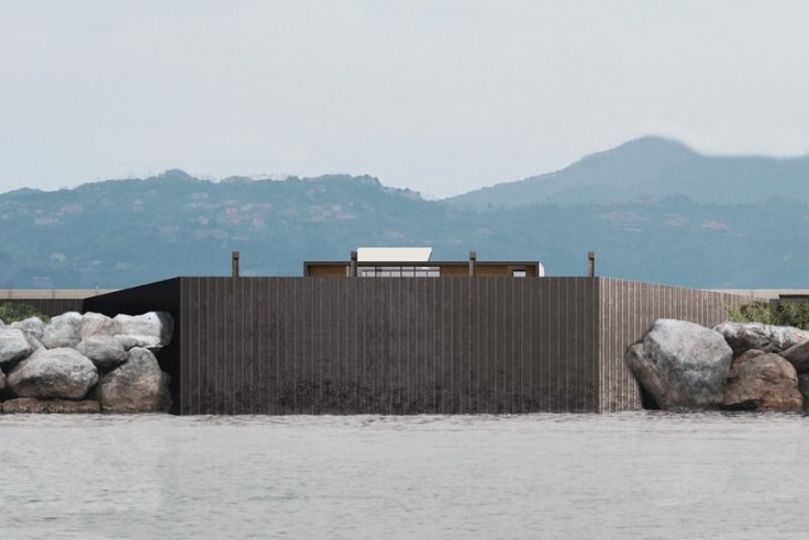 LA SPEZIA'S HARBOR BREAKWATER  TYPE:RECYCLING – DESIGN COMPETION  LOCATION:LA SPEZIA, ITALY