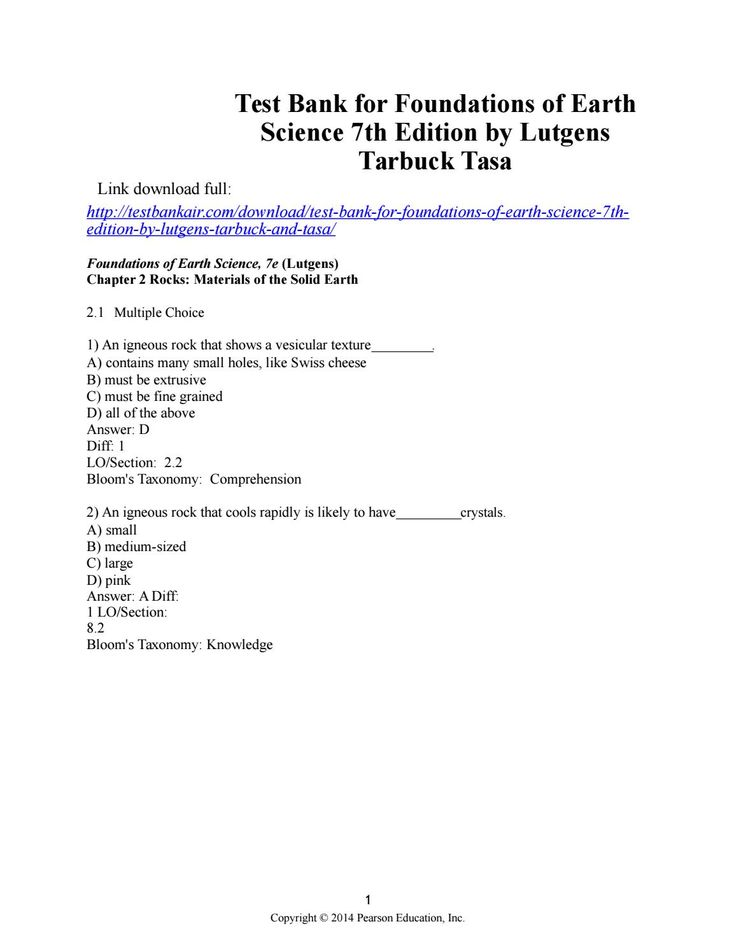 56 best testbank images on pinterest test bank for foundations of earth science 7th edition by lutgens tarbuck tasa fandeluxe Image collections