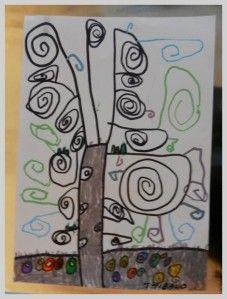 L'arbre de vie prend ses couleurs d'hiver 1 - Les petits bout 2 fee